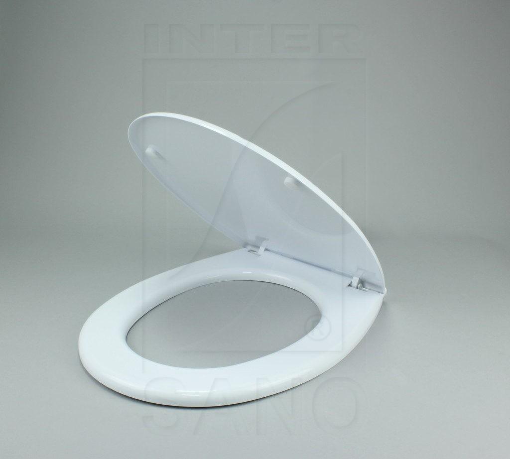 Deska sedesowa Brzózka biel ceramiczna antybakteryjna
