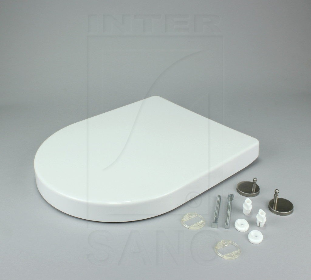 Deska sedesowa wolnoopadająca duroplastowa antybakteryjna BLITZ