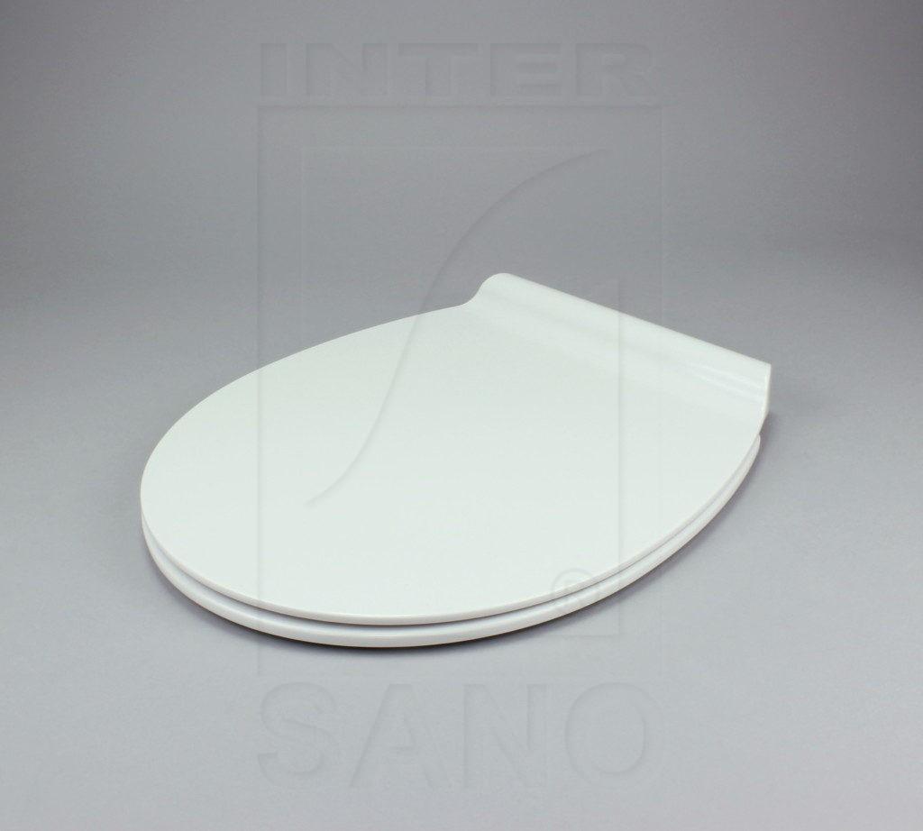 Deska sedesowa wolnoopadająca duroplastowa antybakteryjna SLIM