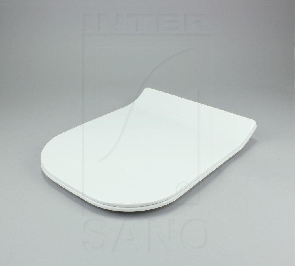 Deska sedesowa wolnoopadająca duroplastowa SLIM KWADRAT