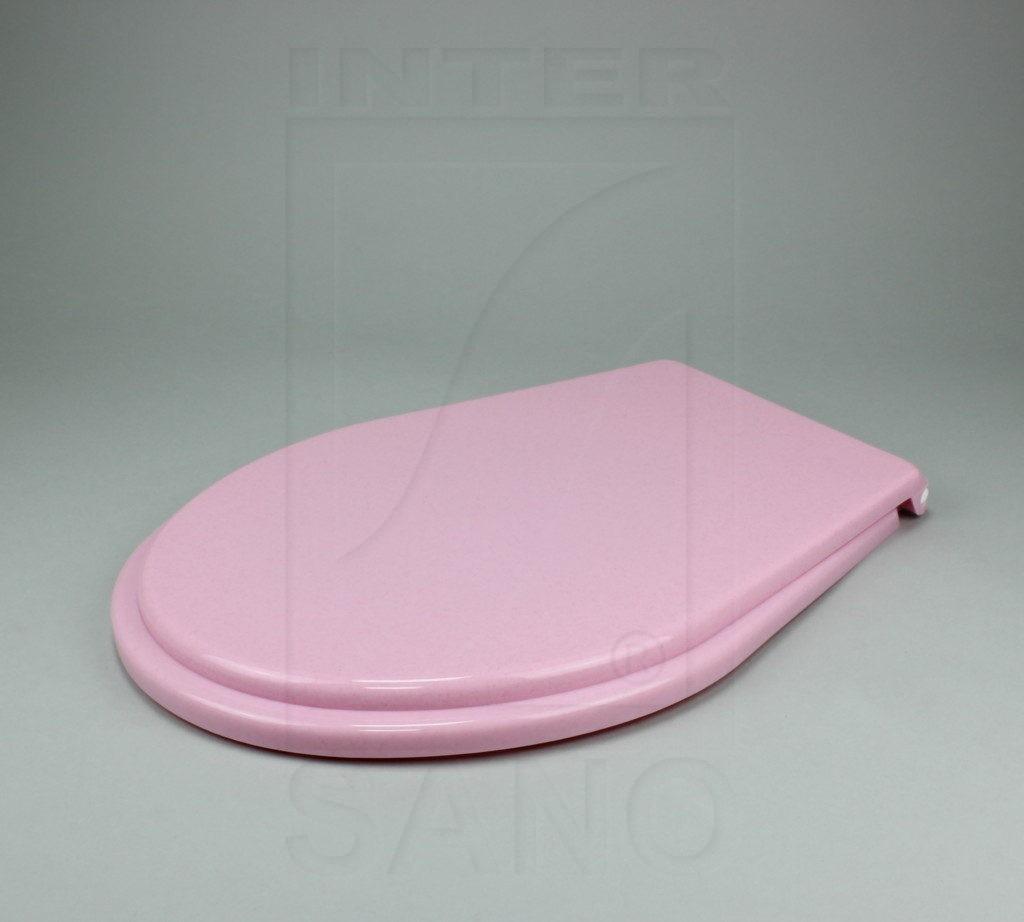 Deska sedesowa standard różowe kropki