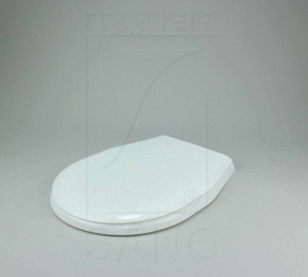 Deska sedesowa uniwersalna PP białe kropki