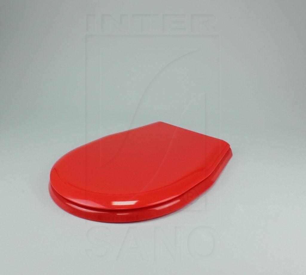 Deska sedesowa uniwersalna PP czerwona