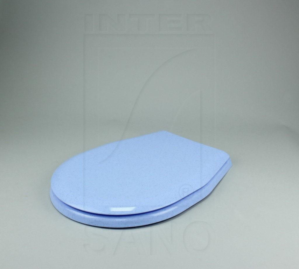 Deska sedesowa uniwersalna PP niebieskie kropki