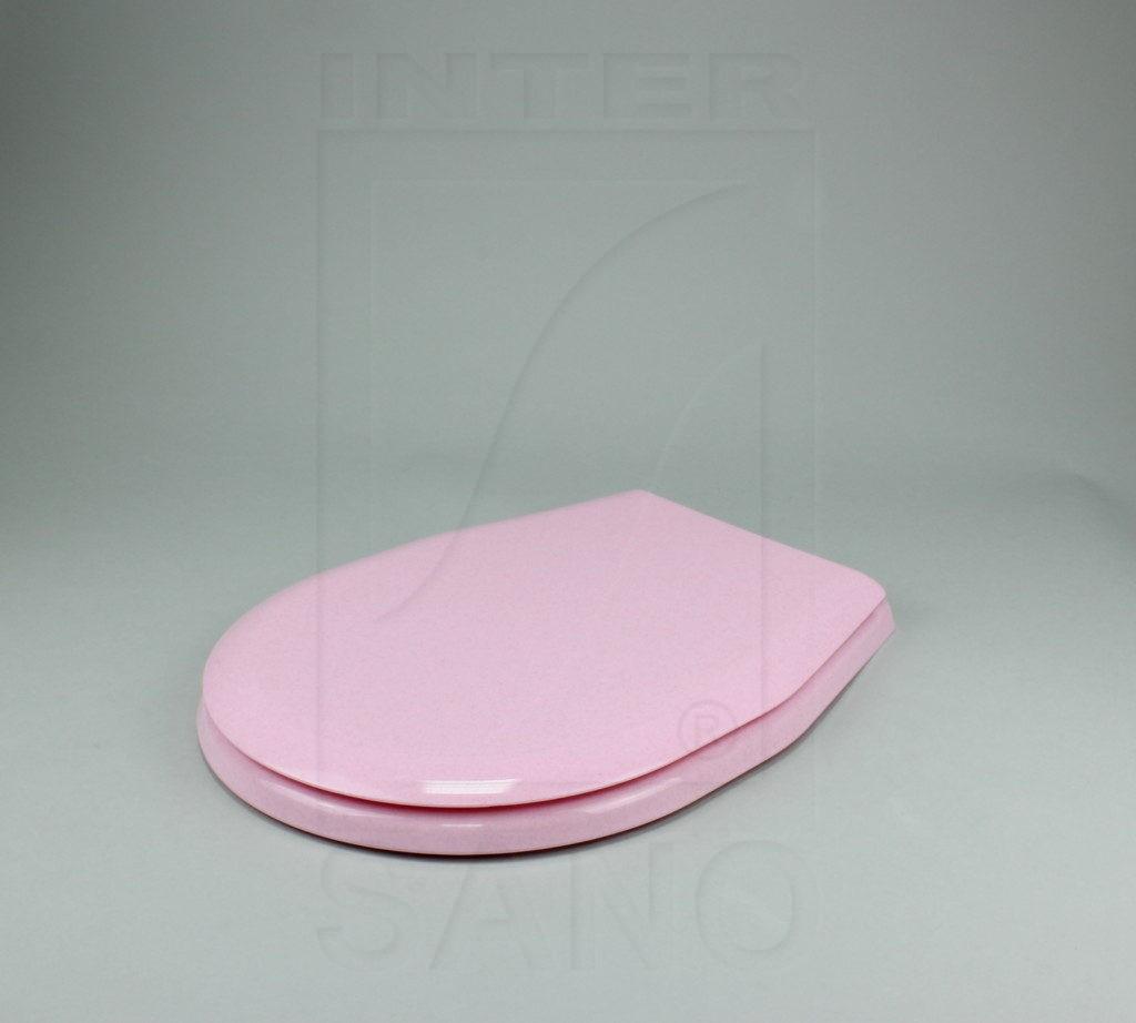 Deska sedesowa uniwersalna PP różowe kropki