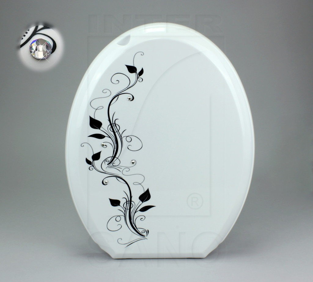 Deska sed. VENUS biała, CRYSTAL