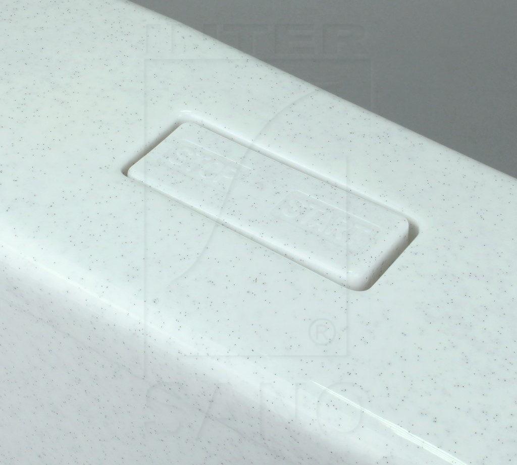 Dolnopłuk klawisz 95K białe kropki