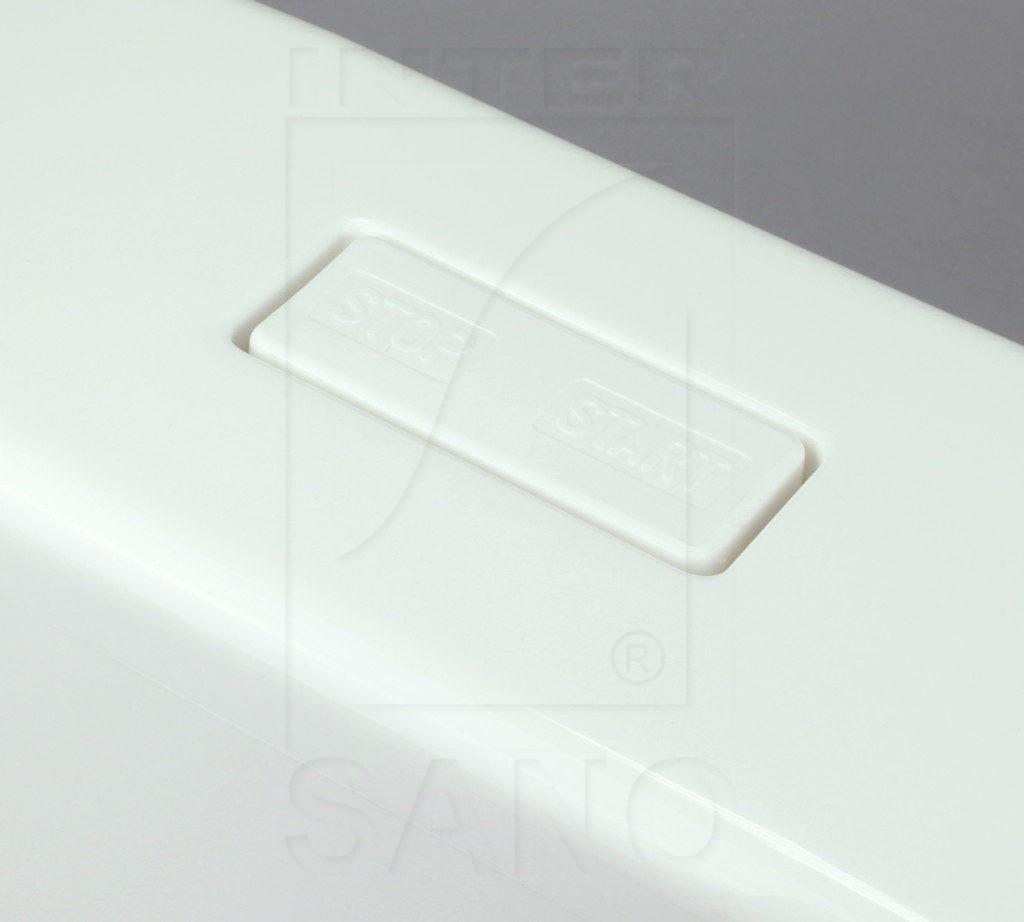 Dolnopłuk klawisz 95 biały+karton
