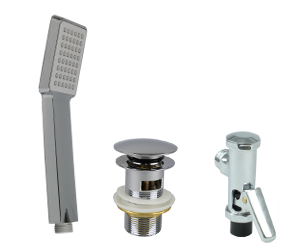 Sanitary fittings & small equipment