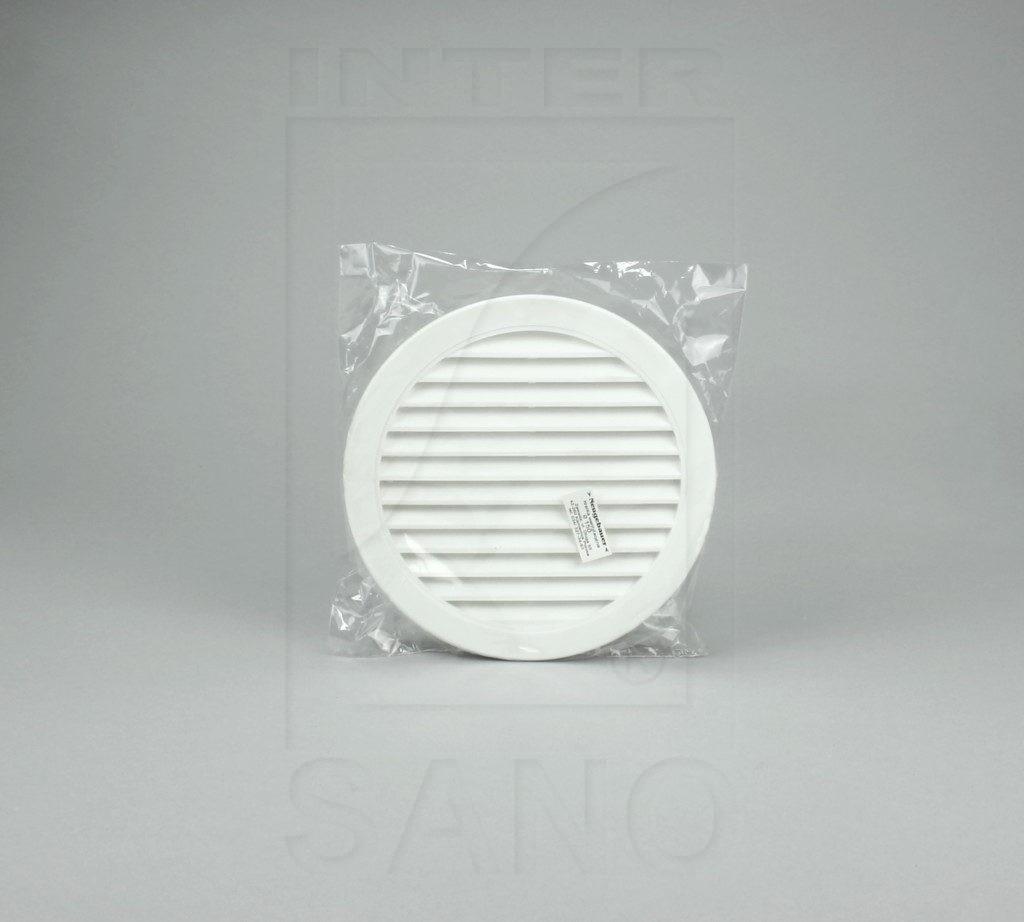 Kratka wentylacyjna fi 150 okrągła z siatką