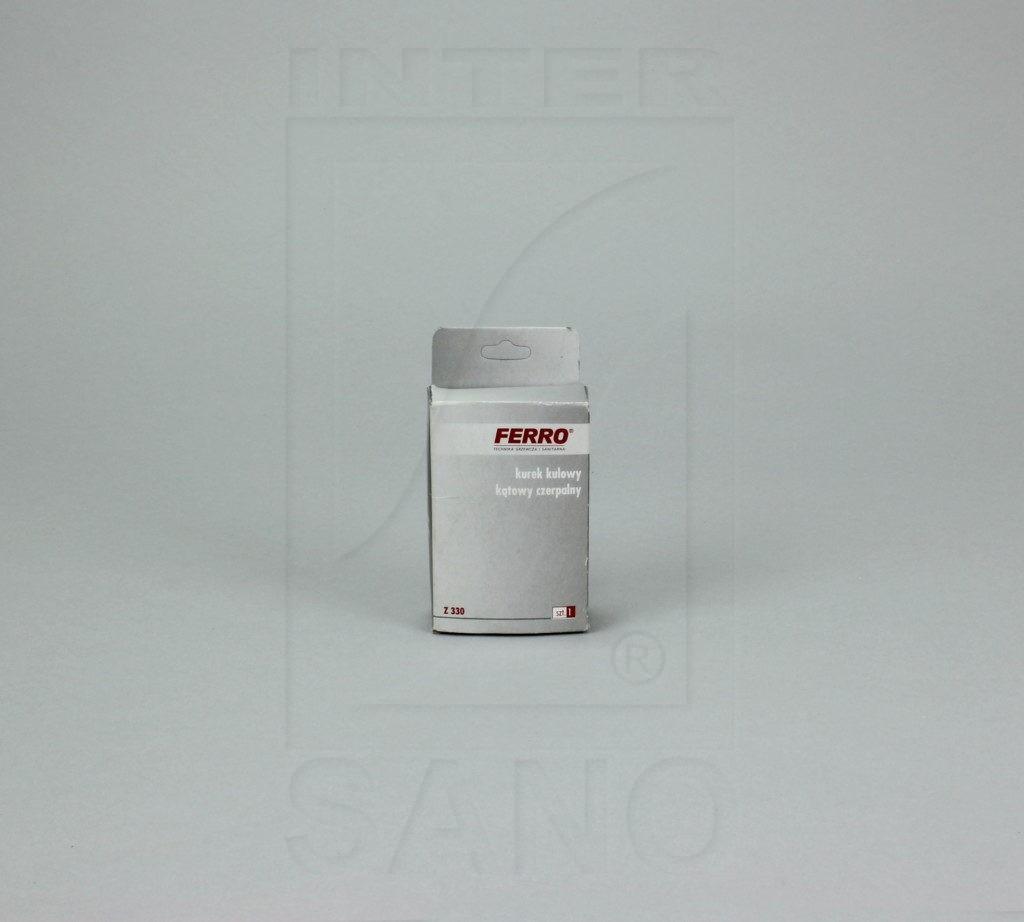 Zawór kulowy kątowy 1/2 x 3/4 rozeta chromowana