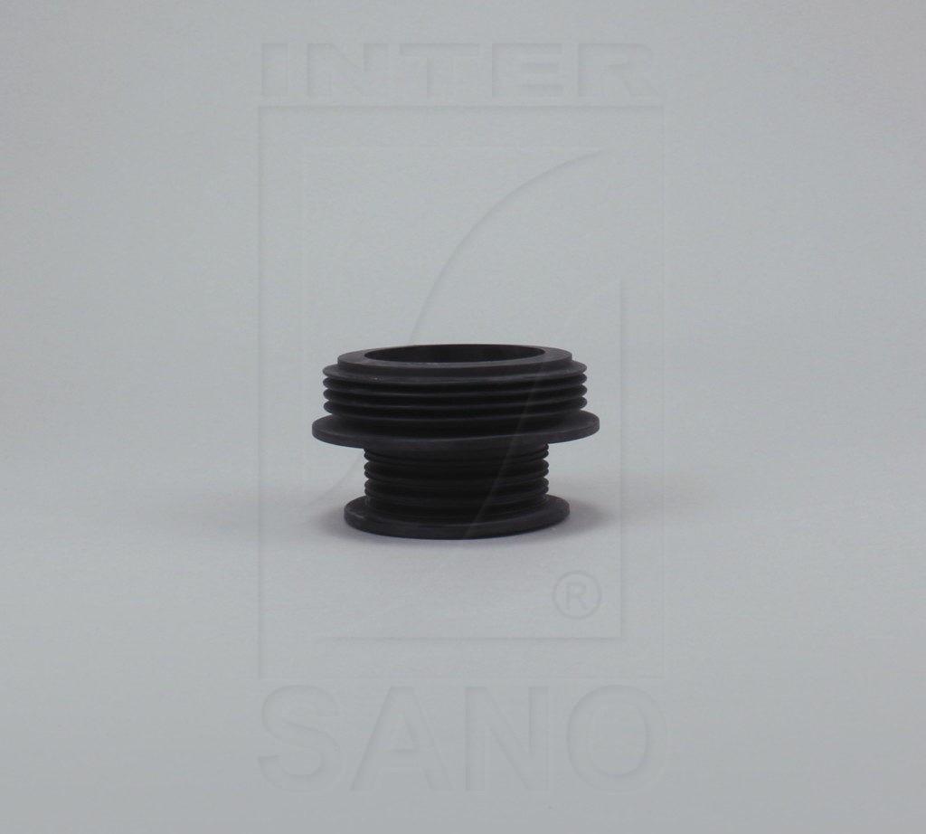 Redukcja gumowa czarna 100/105 - 75/50
