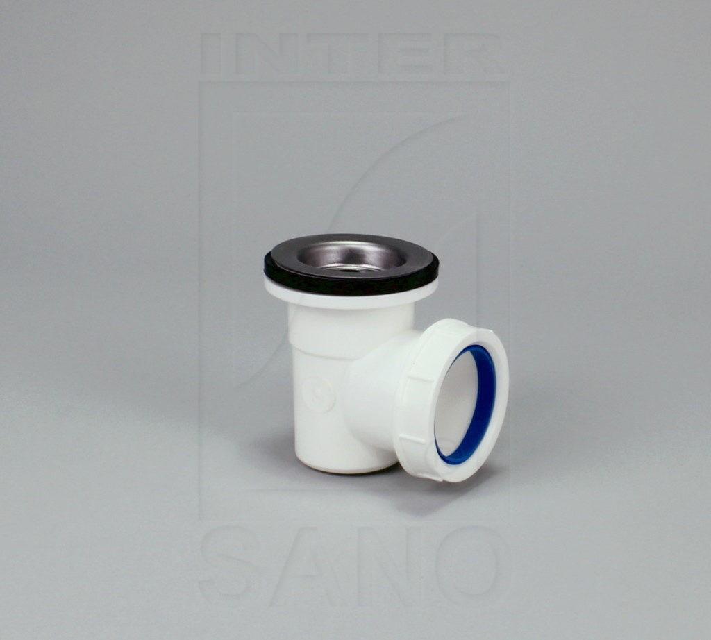 Syfon brodzikowy mini czyszczony od góry z sitkiem ze stali nierdzewnej (B10)