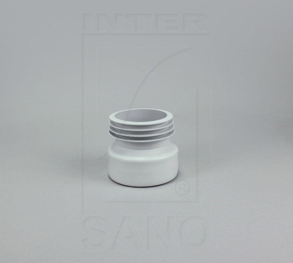 Złącze WC proste guma