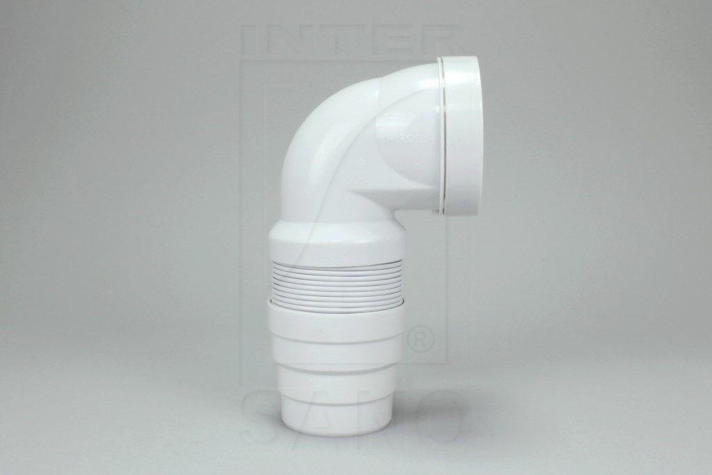 Kolano WC/90 harmonijkowe