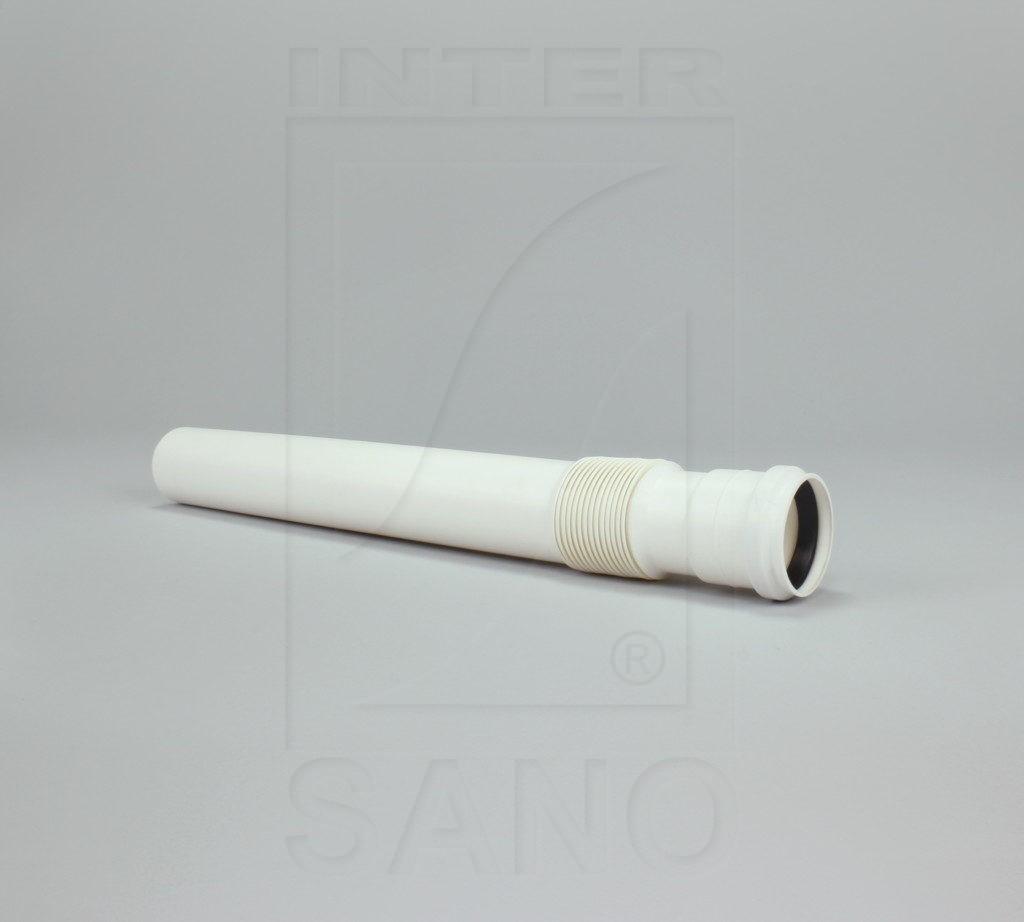 Króciak kombinowany fi 50x500 mm biały 11154