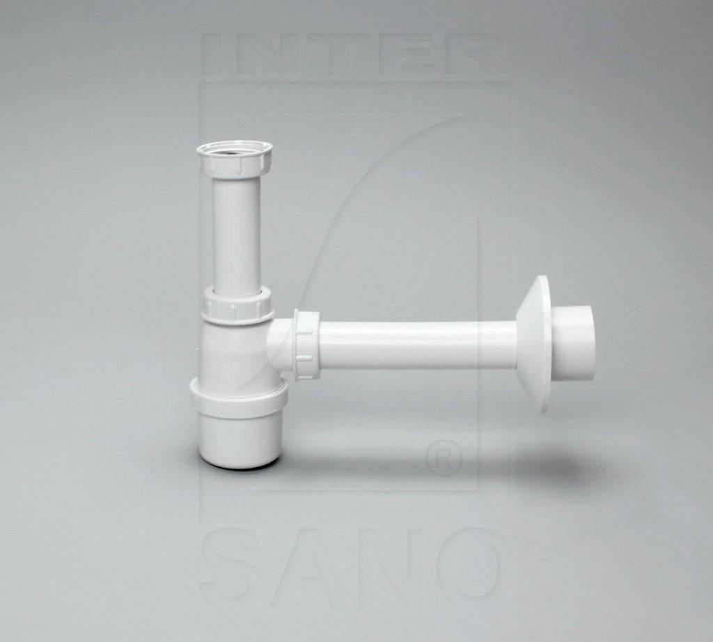 Półsyfon umywalki biały