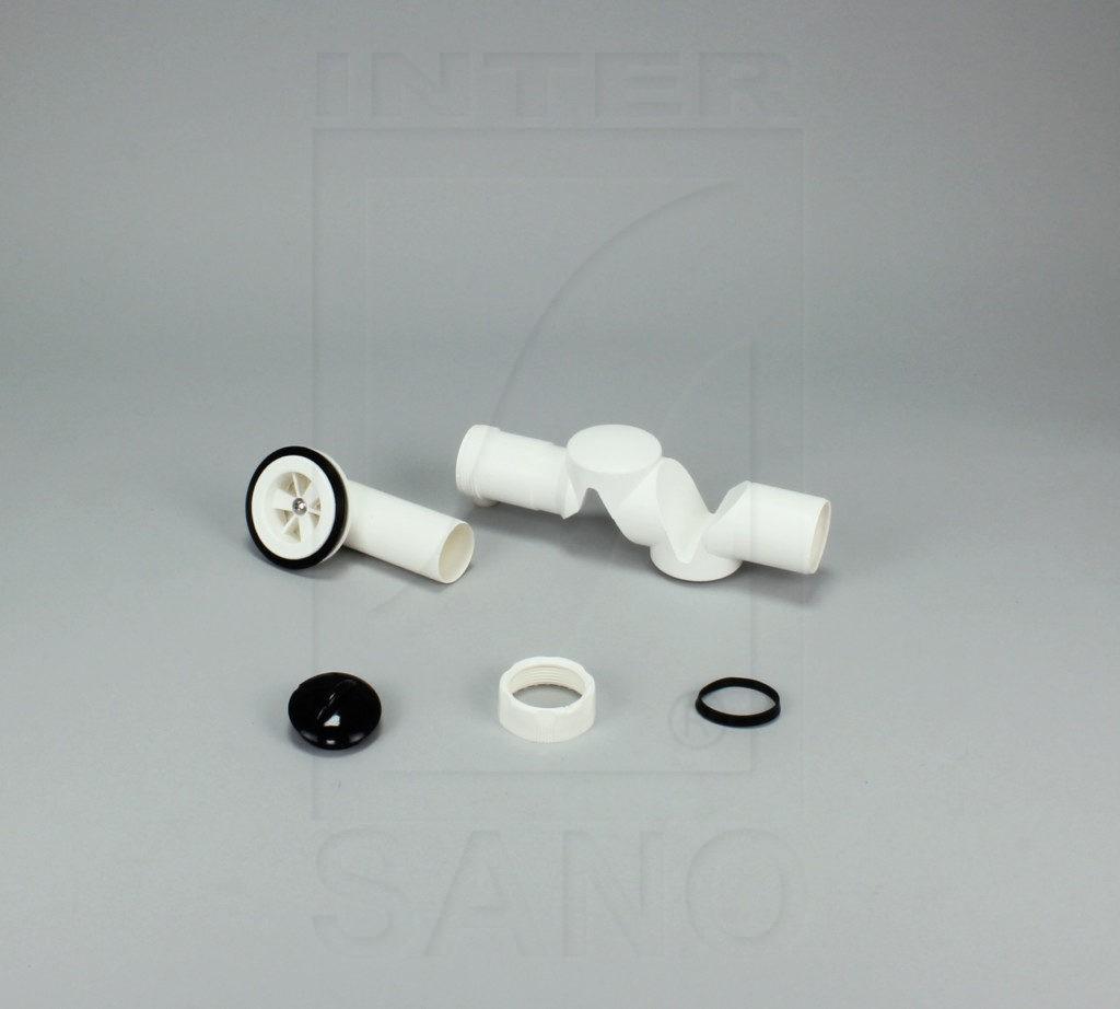 Syfon brodzikowy niski sitko plastikowe