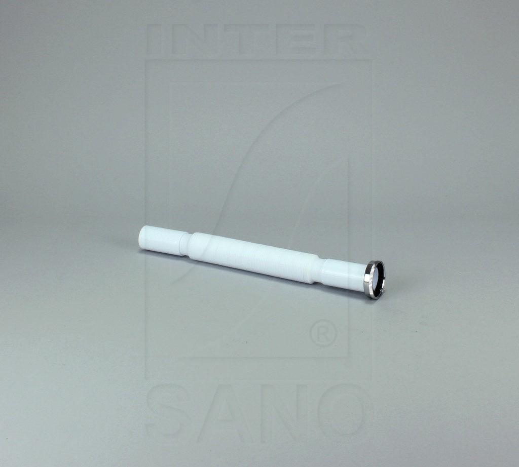 Syfon elastyczny fi 32/1 1/4 biały