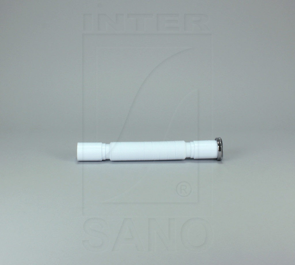 Syfon elastyczny fi 40/1 1/2 biały