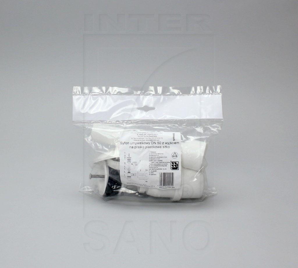 Syfon umywalkowy sitko plastikowe + pralka