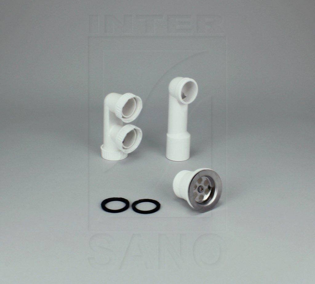 Syfon brodzikowy sitko metalowe
