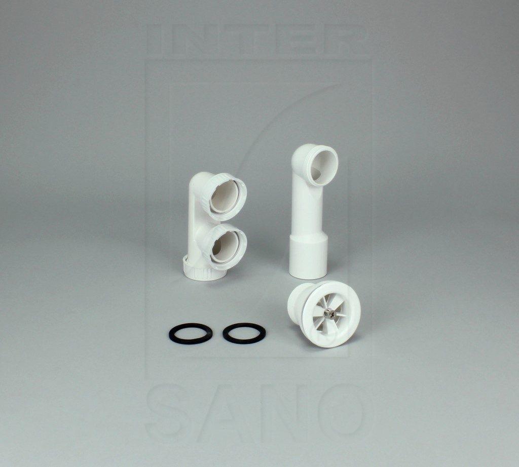 Syfon brodzikowy z czyszczakiem sitko plastikowe
