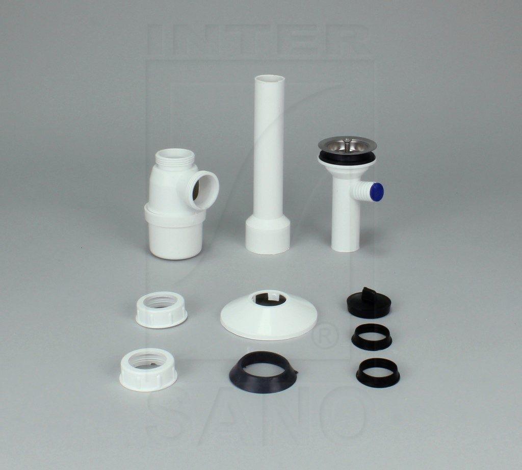 Syfon umywalkowy sitko metal + pralka
