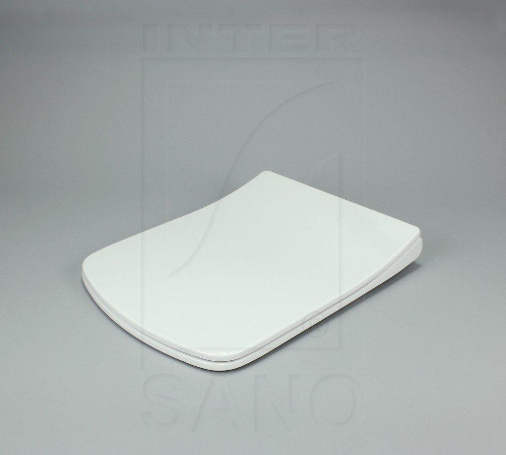 Deska sedesowa wolnoopadająca duroplastowa antybakteryjna NOVA SLIM