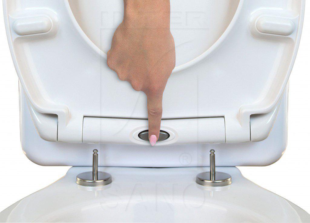 Deska sedesowa wolnoopadająca duroplastowa UNIEURO