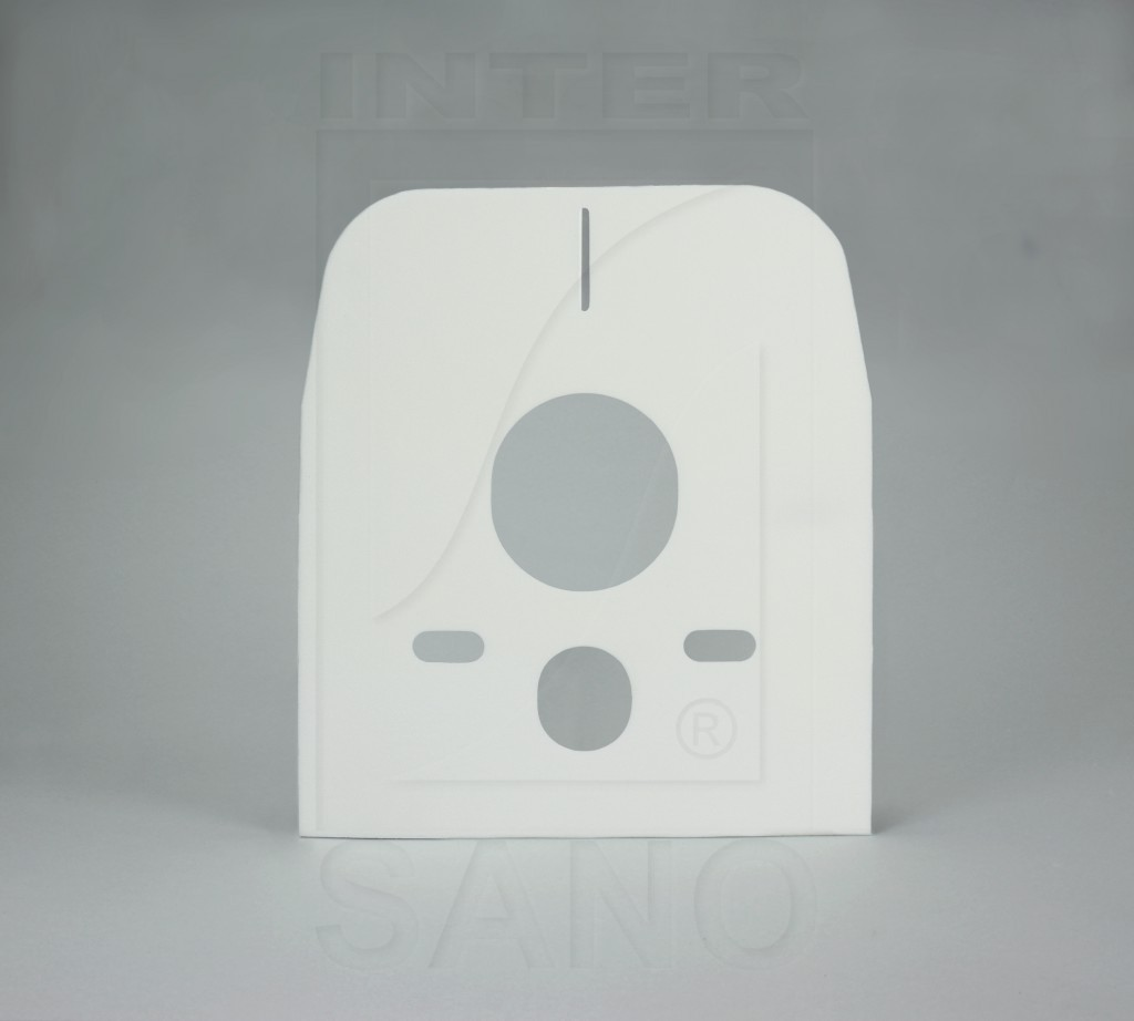 Przekładka WC bez tulejek prostokątna